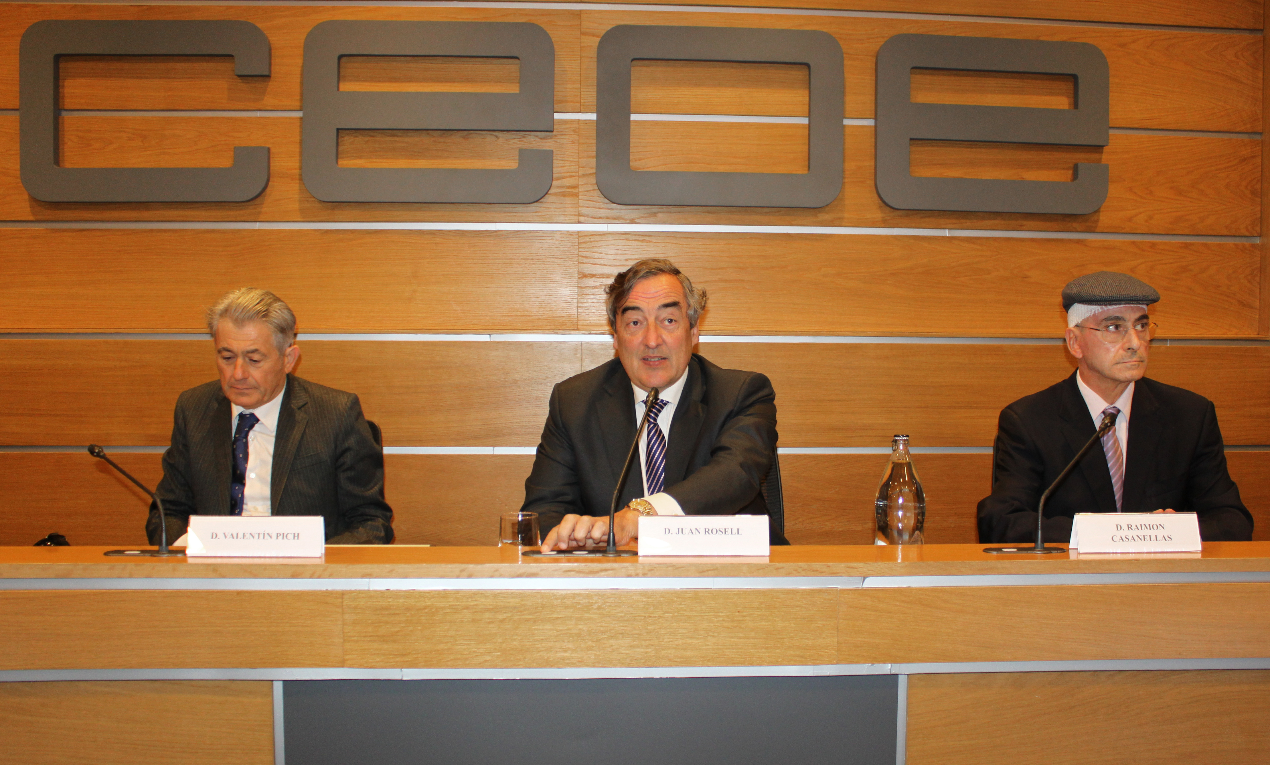 Foto CEOE y CGE. Insolvencia 04.04.17